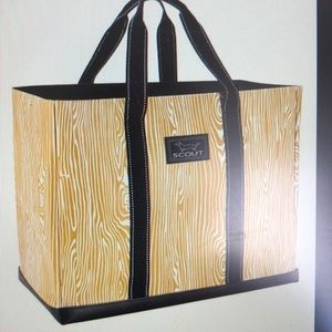 Scout Bags NWT Original Deano Yellow Timber Tote
